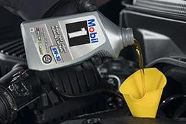 8-Quart Mobil 1® Full Synthetic Oil Change Package