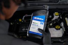 8-Quart ACDelco GM OE dexos1® Full Synthetic Oil Change